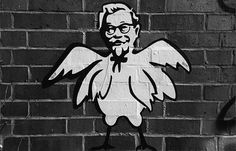 #kfc #chicken #street #art