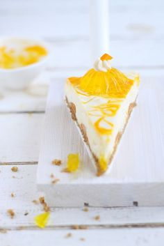 ... Mango cheesecake ....