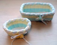 baby baskets made with the new Basket Frames