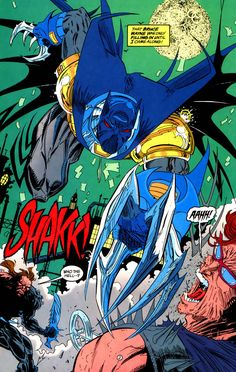 With the Batman broken by Bane, Jean Paul Valley takes over for the Dark Knight as the new Batman in his own way.