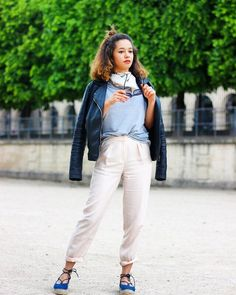 Check out @lenamahfouf #ootd on @glamhive. Looking forward to maybe meeting up while we are in #Paris.  Download our app to shop her #looks (or post your own shopable look) or visit http://ift.tt/28Z23Tk for more from @lenamahfouf  #style #fashion #pfw #glamhive #lookoftheday