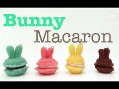 Polymer Clay Bunny Macaron Tutorial!
