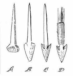 horse nail arrow head