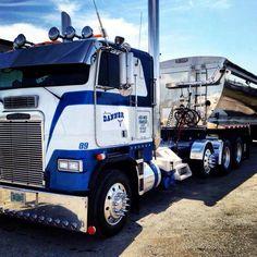 Freightliner COE end dumper