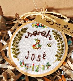 Custom Embroidered Wedding Magnet | Collections Wedding | The Monster's Lounge | Scoutmob Shoppe |