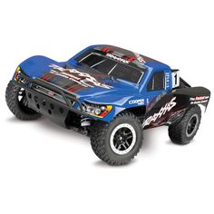 This Slash 4X4 is hard-loaded for ultimate performance and realism with the Traxxas On-Board Audio, new Traxxas Stability Management (TSM) and a low-CG chassis. Traxxas On-Board Audio delivers the ful