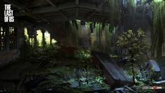 Get ready to be amazed with this definitive collection of more than 85 concept art made for the Last of Us by in particular order,  Marek Okon, John Sweene