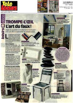 Daycollection, Télé Loisirs, 11-17 mars 2013
