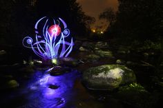 Light Painting - Gone with the flow - Hannu Huhtamo - 04/09/2011 - Canon EOS 50D