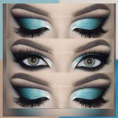 #Repost @motivescosmetics @melissasamways  Hey Loves!  Dramatic Aqua Blue Cut Crease Makeup! Full TUTORIAL in my YouTube Channel  Link in her Bio!   Eyeshadows @motivescosmetics and @aomcosmetics  Eyeshadow Base @nyxcosmetics  Lenses Desert Dream @desioeyes  Eyelashes @velourlashesofficial (use the code MELVELOUR for $$$ off)  Olá amores!  Dramatic Aqua Blue Cut Crease Makeup!  TUTORIAL Completo desta maquiagem no meu canal do YouTube  Link na minha Bio!   #MUA #MelissaSamways #Youtuber…