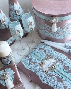 Wedding Boxes, Wedding Sets, Wedding Guest Book, Wedding Cards, Wedding Flutes, Wedding Unity Candles, Wedding Pillows, Diy Crafts For Gifts, Burgundy Wedding