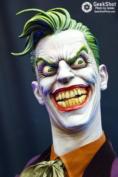 The Joker. Sideshow Collectibles statue at SDCC 2013. DC Comics.
