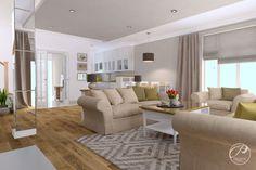 Dom w stylu klasycznym Przestronny, jasny kolor w ciepłych kolorach. Progetti Architektura