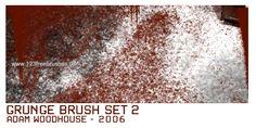 Grunge Set 3 - Download  Photoshop brush http://www.123freebrushes.com/grunge-set-3/ , Published in #GrungeSplatter. More Free Grunge & Splatter Brushes, http://www.123freebrushes.com/free-brushes/grunge-splatter/ | #123freebrushes