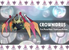 """""""Meet Crownidrus the Coronavirus pokémon Poison/Type Original crown spider concept by and flaflakim Don't forget to stay safe y'all"""" Satoshi Pokemon, Pokemon Memes, Minecraft Projects, Cool Pokemon, Stay Safe, Hand Sanitizer, Don't Forget, Pikachu, Geek Stuff"""