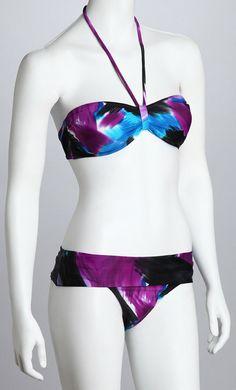 Bikini Purple Bandeau