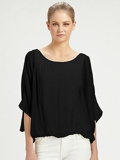 Alice + Olivia - Pool Dolman Sleeve Top - Saks.com