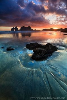 Beach at the End of the World, New Zealand's south island