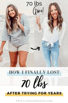 The 1 Simple Thing That Finally Worked to Lose 70 Lbs After Failing for Years - Cassie Scroggins Weight Loss Meals, Diets Plans To Lose Weight, Weight Loss Program, Weight Loss Journey, Healthy Weight Loss, How To Lose Weight Fast, Key To Losing Weight, Weight Loss Workout Plan, Weight Loss Smoothies