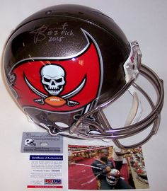 e6230c7df Jameis Winston - Autographed Official Full Size Riddell Authentic Proline  Football Helmet - Tampa Bay Bucs - PSA/DNA