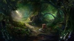 Otherworld - magic forest by firedudewraith.deviantart.com on @deviantART Otherworld: Spring of Shadows