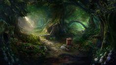 Otherworld - magic forest by firedudewraith.deviantart.com on @deviantART Otherworld: Spring of Shadows