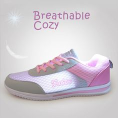 2016 New Summer Zapato Women  Breathable Mesh Zapatillas Shoes For Women Network Soft Casual Shoes Wild Flats Casual-in Women's Casual Shoes from Shoes on Aliexpress.com | Alibaba Group