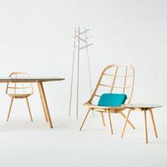 Nadia furniture by Jin Kuramoto made using  Japanese shipbuilding techniques