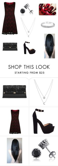 """""""Merry Christmas"""" by faultedwings ❤ liked on Polyvore featuring Diane Von Furstenberg, Fremada, Mela Loves London, BERRICLE and Bling Jewelry"""
