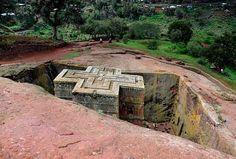 https://flic.kr/p/abZ2eg | St Georges Church, Lalibela, Ethiopia