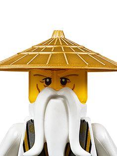 Sensei Wu: Nya: Zack loves Ninjago Legos and doesn't have Nya or Sensei Wu yet.