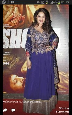 Jus luv dis dress n madhuri aswel :*