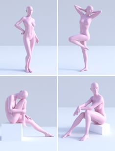 Poses for Genesis 3 Female Female Pose Reference, Pose Reference Photo, Figure Reference, Body Reference, Drawing Reference Poses, Drawing Poses, 3d Pose, 3d Modelle, Anatomy Poses