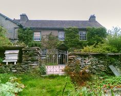 Hilltop Farm, home of Beatrix Potter  Sawrey, Cumbria, England