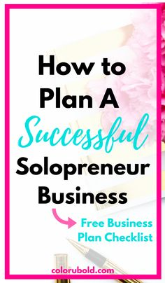 How to plan a successful business. Before launching your business her are 8 steps to ensure a successful start!  1. Be Niche-specific 2. Know Your Goals 3. Do you need a Team or can you do it alone 4. What is going to slow you down. 5. Brain storm all of your necessities. 6. Research fully 7. Create a business plan (free checklist included) 8. Put system into action