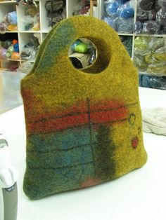 felted bag - Andrea Graham