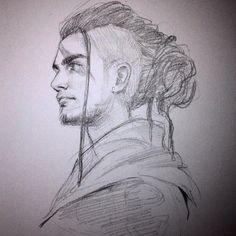 Sketch I by Shilesque on @DeviantArt