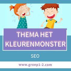 Thema Het Kleurenmonster: SEO Monster, Seo, Teaching, Education, School, Fictional Characters, Learning, Training, Fantasy Characters