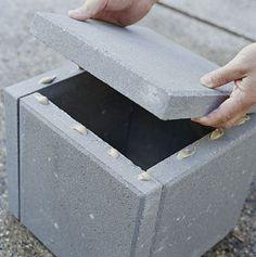 CONCRETE PLANTER out of pavers