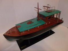 Ernest Hemingway's Fishing Boat Pilar by Thetoolroom on Etsy, $120.00