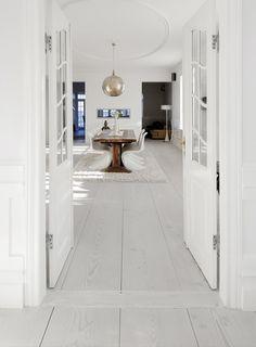 White Click PVC Vinyl Flooring Plank for Residential