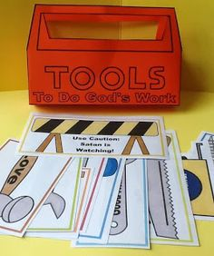 toolkit  The kids loved creating their own toolboxes.  This one went over much better than expected.