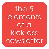 the 5 elements of a kick assnewsletter