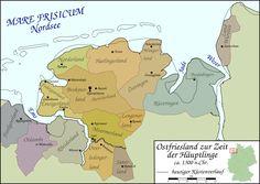 Ostfriesland um 1300 - Ostfriesland – Wikipedia
