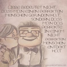 Liebe bedeutet nicht, dass man einen perfekten Menschen gefunden hat, sondern, dass man das Perfekte in einem nicht perfekten Menschen entdekt hat... #Bedinungslose Liebe #Liebe #NobodysPerfect #Seelenpartner #Dualseelen #Zwillingsflammen