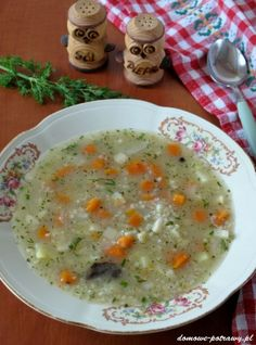 Polish Recipes, Polish Food, Cooking Recipes, Healthy Recipes, Cheeseburger Chowder, Dinner Ideas, Kitchens, Stew, Cooking
