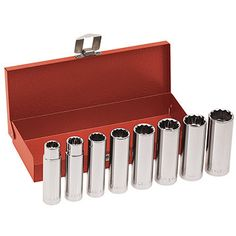 8-Piece Socket Set (12 pt) 65514