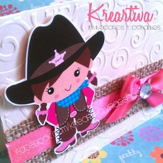 Invitación Infantil #LittleCowgirl