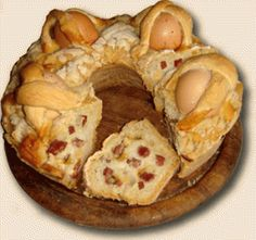Casatiello: Easter bread from Naples #Italy