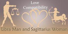 sagittarius woman dating a libra man